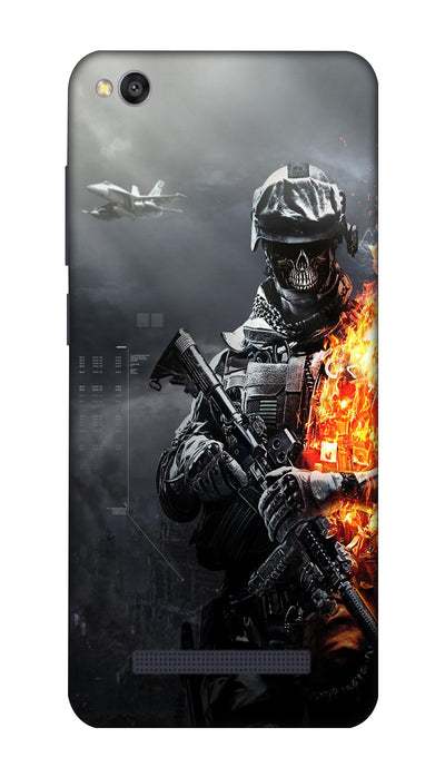 Burning fighter Hard Case For Redmi 4A