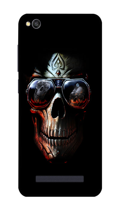 Cool skull Hard Case For Redmi 4A