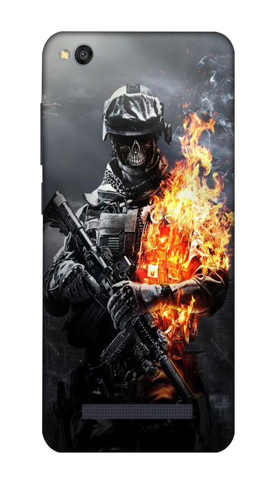 Burning man Hard Case For Redmi 4A
