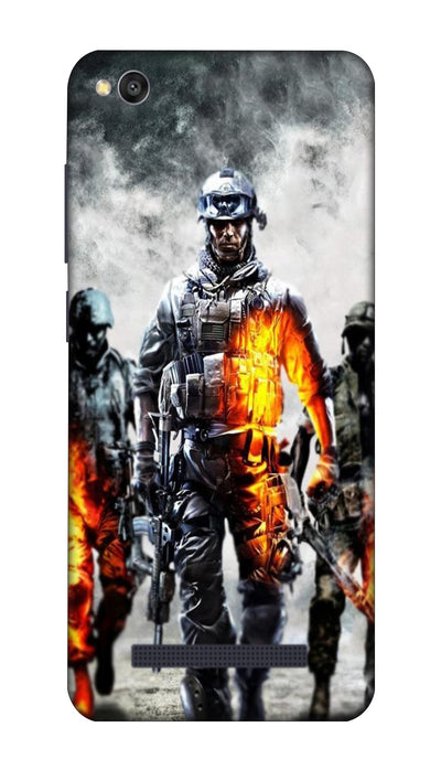 Burning team Hard Case For Redmi 4A