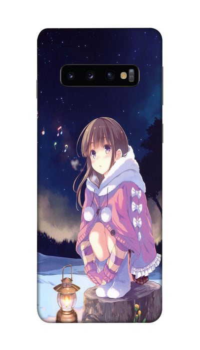 Alone girl Hard Case For Samsung S10