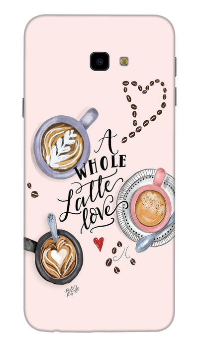 Latte love Hard Case For Samsung J4 Plus