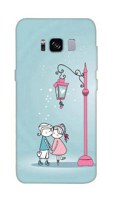 Street couple Hard Case For Samsung S8