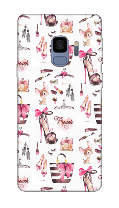 French lady Hard Case For Samsung S9