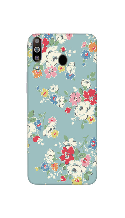 Small coloured flowers Hard Case For Samsung M30