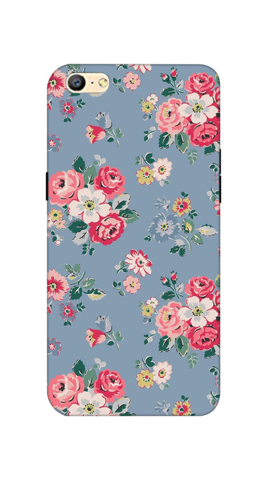 Lovely flowers Hard Case For Oppo A57