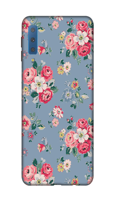 Lovely flowers Hard Case For Samsung A7