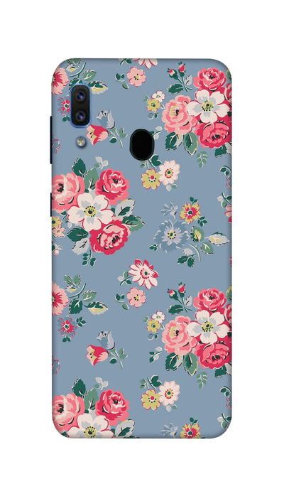 Lovely flowers Hard Case For Samsung A30