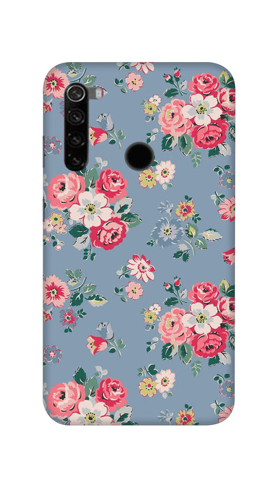 Lovely flowers Hard Case For Mi Redmi Note 8