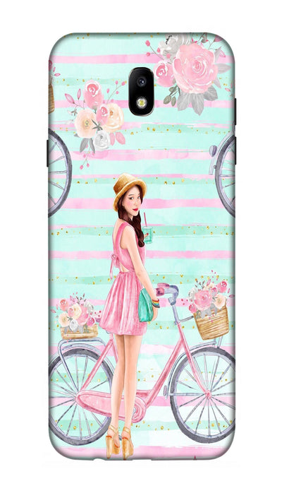 Cycle girl Hard Case For Samsung J7 Pro