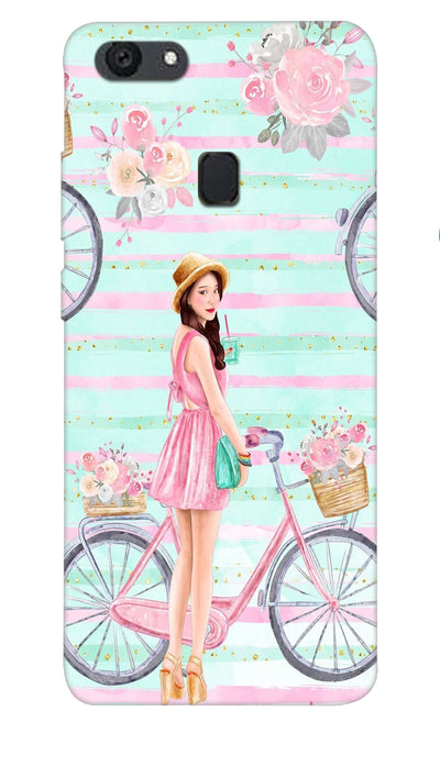 Cycle girl Hard Case For Oppo F5