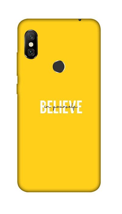 Believe Hard Case For Redmi 6 Pro