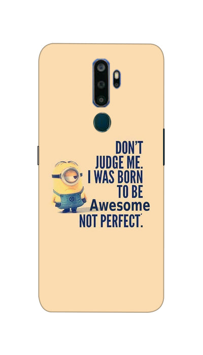 Don't judge Hard Case For Oppo A5-2020
