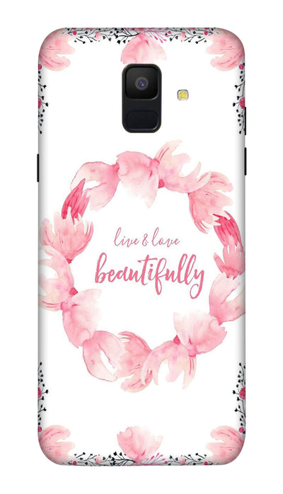 Beautifully Hard Case For Samsung A6