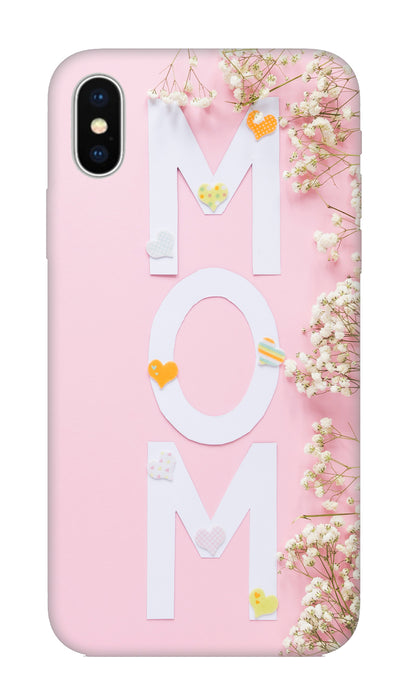 Mom Hard Case For Apple iPhone X
