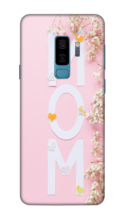 Mom Hard Case For Samsung S9 Plus