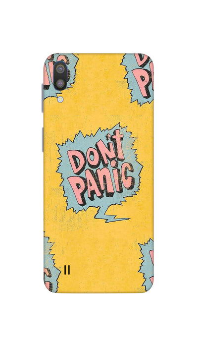 Don't panic Hard Case For Samsung M10