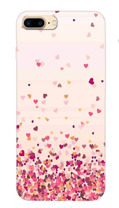 Sprinkle hearts Hard Case For iPhone 7 Plus