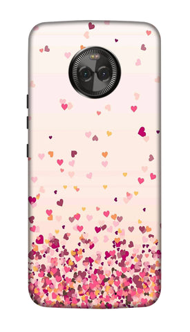 Sprinkle hearts Hard Case For Moto X4
