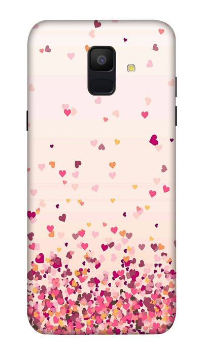 Sprinkle hearts Hard Case For Samsung A6