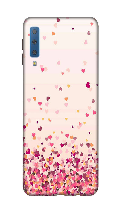 Sprinkle hearts Hard Case For Samsung A7