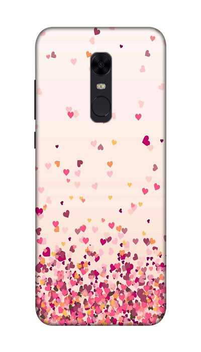 Sprinkle hearts Hard Case For Redmi Note 5