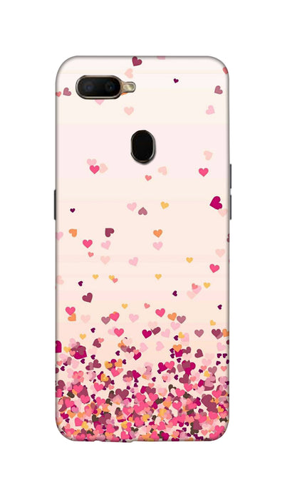 Sprinkle hearts Hard Case For Oppo A5S