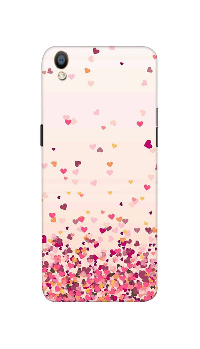 Sprinkle hearts Hard Case For Oppo F1 Plus