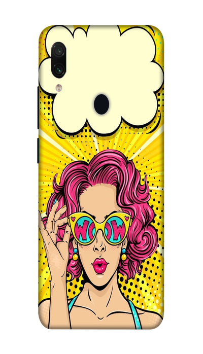 Wow girl Hard Case For Redmi Note 7