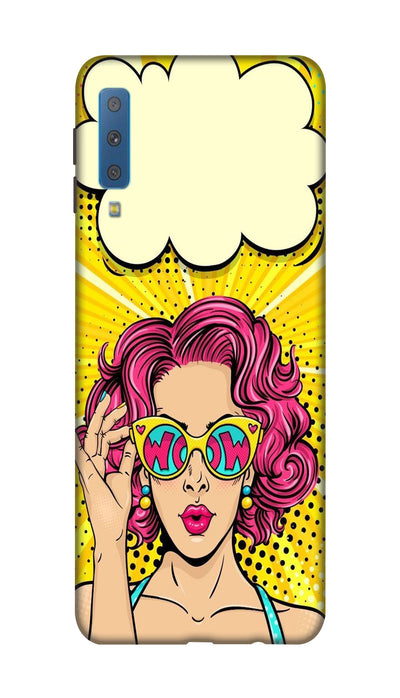 Wow girl Hard Case For Samsung A7