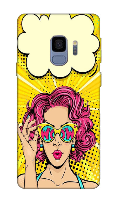 Wow girl Hard Case For Samsung S9