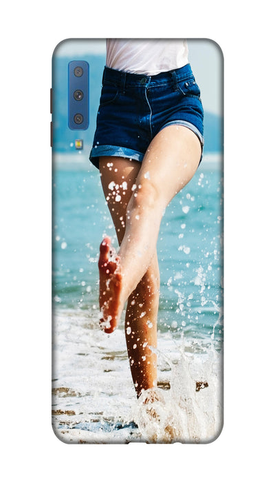 Sea pose Hard Case For Samsung A7