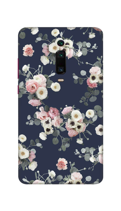 White & pink roses Hard Case For Mi Redmi K20