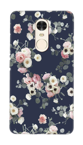 White & pink roses Hard Case For Redmi Note 4