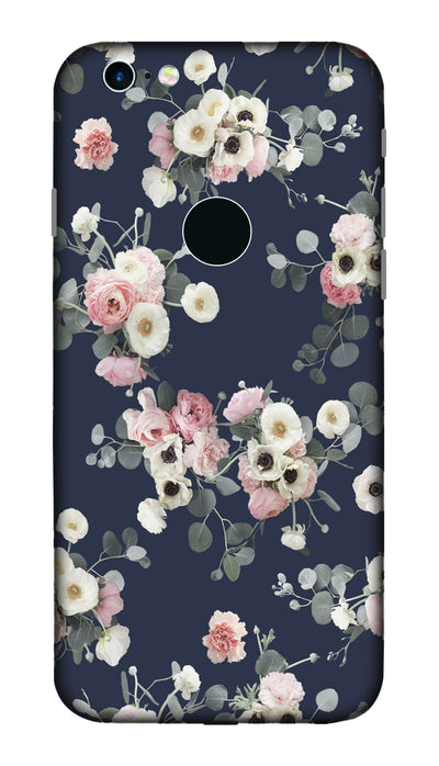 White & pink roses Hard Case For Apple iPhone 6S
