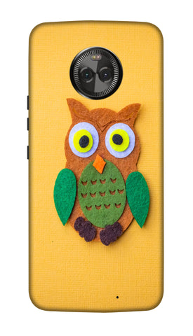Paper owl Hard Case For Moto X4