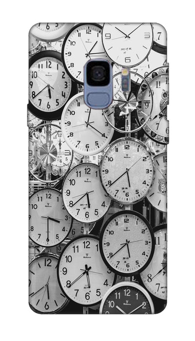 Clocks Hard Case For Samsung S9