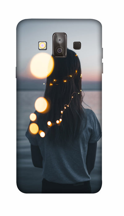 standing girl Hard Case For Samsung J7 Duo