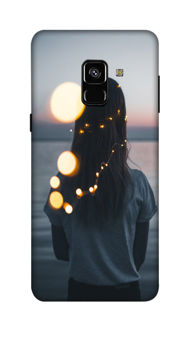 standing girl Hard Case For Samsung A8