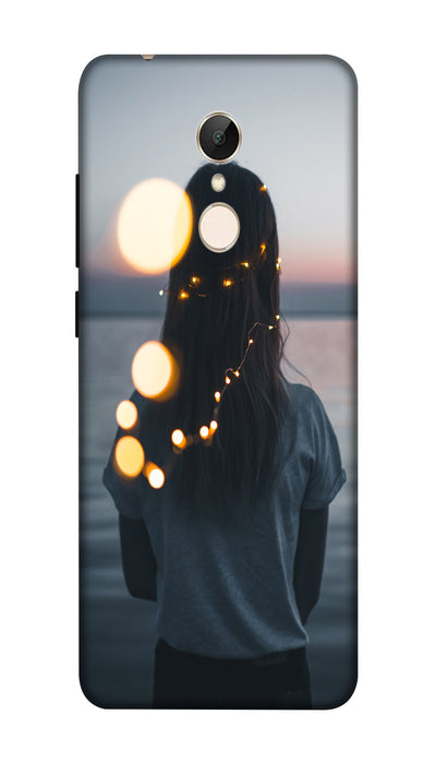 standing girl Hard Case For Redmi 5