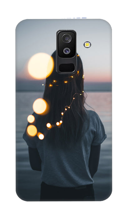 standing girl Hard Case For Samsung A6 Plus