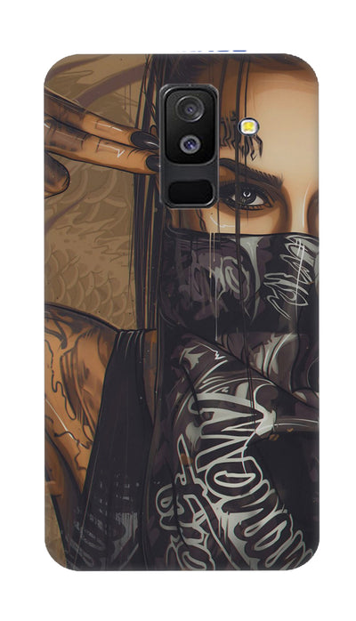 Shooting girl Hard Case For Samsung A6 Plus
