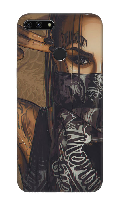 Shooting girl Hard Case For Honor 7A