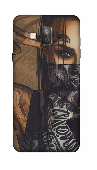 Shooting girl Hard Case For Samsung J7 Duo