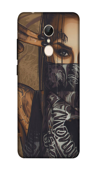 Shooting girl Hard Case For Redmi 5