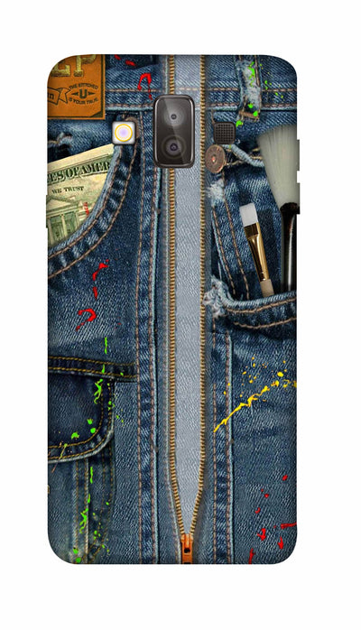 Jeans pocket Hard Case For Samsung J7 Duo