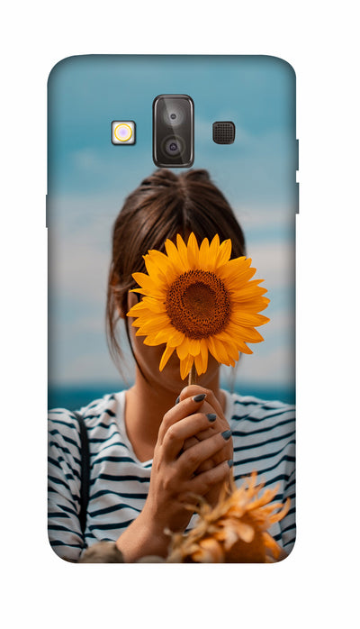 Sunflower Hard Case For Samsung J7 Duo