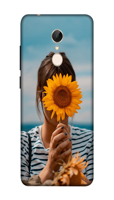 Sunflower Hard Case For Redmi 5