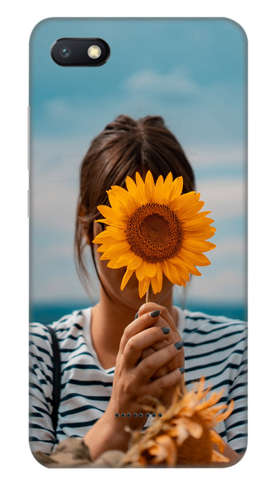 Sunflower Hard Case For Redmi 6A