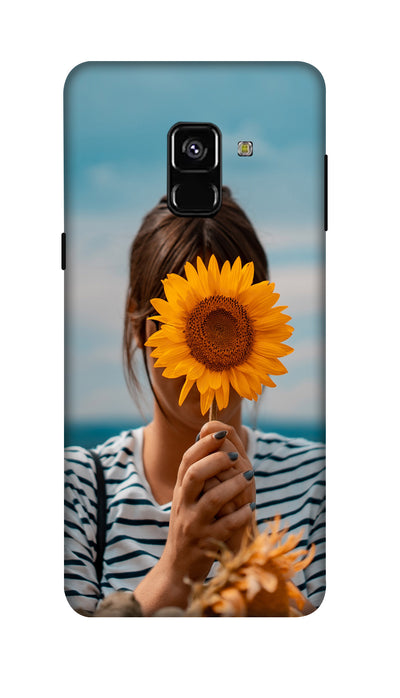 Sunflower Hard Case For Samsung A8